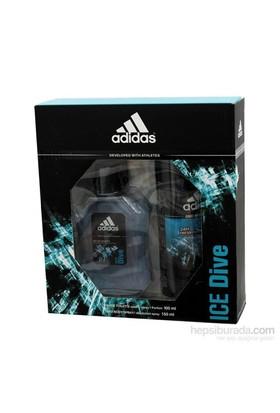 Adidas Parfüm Seti Erkek İce Dive 100Ml+150Ml Deodorant