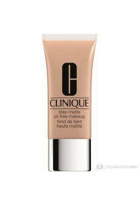 Clinique Stay Matte Oil Free Makeup- Fondöten Renk: 02 Alabaster