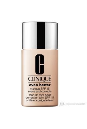 Clinique Even Better Makeup Fondöten Spf 15 Renk: Nutty