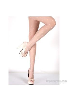 Miorre Desenli Külotlu Çorap