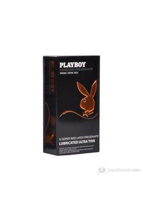 Playboy Ultra Thin (Süper İnce) 12'li Prezervatif