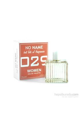 No Name 029 De Roses Edt 75 Ml Kadın Parfüm
