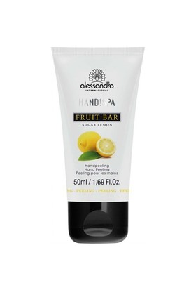 Alessandro Hand!Spa Flower Bar Sugar Lemon Hand Peeling 50 Ml - El Peelingi