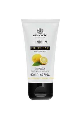 Alessandro Hand!Spa Flower Bar Sugar Lemon Hand Peeling 50 Ml - El Peelingi