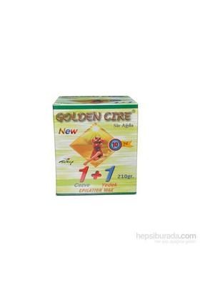Golden Cire Yeşil Cezve Sir Ağda