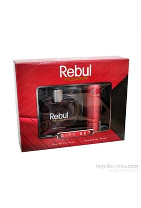 Rebul Power 100 Ml Erkek Parfüm + 150 Ml Deodorant Set