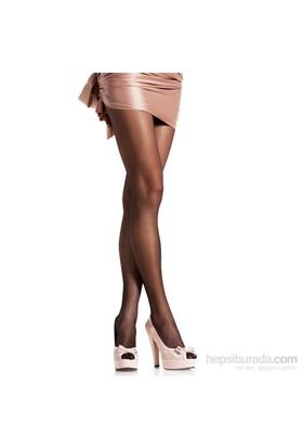 Pierre Cardin Likralı Parlak Külotlu Çorap Siyah