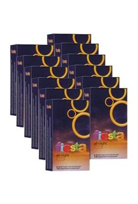 Fiesta All Nıght Delayli Prezervatif Ultra Eko Paket 144 Adet