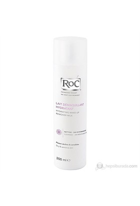 Roc Hydrating Makeup Remover Milk 200 Ml