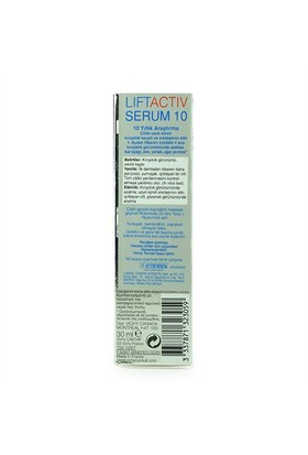 Vichy Liftactiv Serum 10 Anti-Aging Kırışıklık Kar
