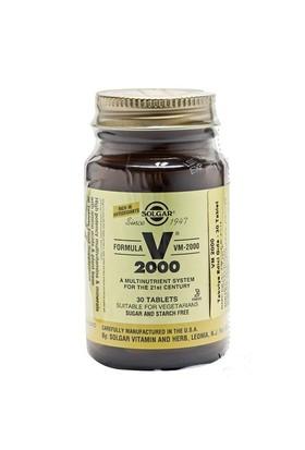 Solgar Vm 2000 Multivitamin & Mineral 30 Tablet