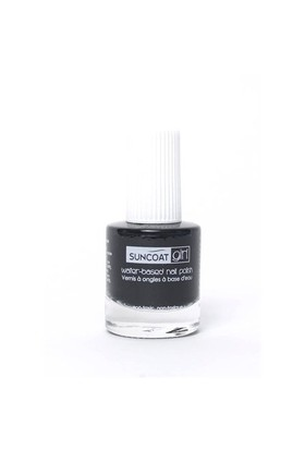 Suncoat Doğal Mineral Oje - Black