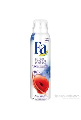 Fa Deospray Floral Protect Poppy 150ml