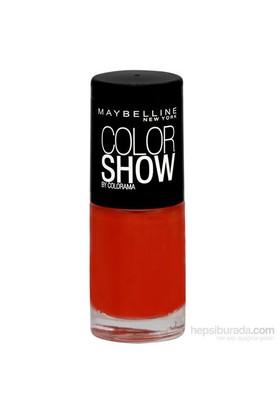 Maybelline Vao Color Show Nu 341 Orange Attack