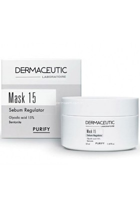 Dermaceutic Mask 15 Oil Reducing Mask 50 Ml - Yağlı Ve Akneli Cilt Kil Maskesi