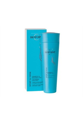 Biopoint Sport&Swim Shampoo And Conditioner 2 İn 1 Anti Chlorine - Spor Yüzme Şampuanı