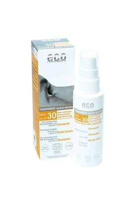 Organik Sertifikalı Koruyucu Güneş Yağı - Transparan Spf 30