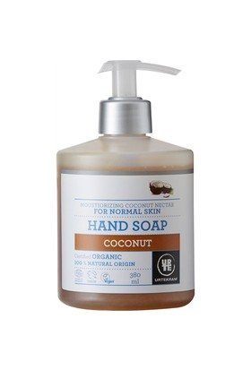 Urtekram Organik Sıvı Sabun - Nemlendirici hindistan cevizi nektarı, 380 ml.