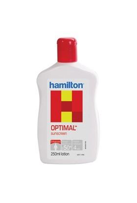 Hamilton Optimal Lotion SPF 50+ 250 ml - Tüm Ciltler İçin Güneş Koruyucu Losyon