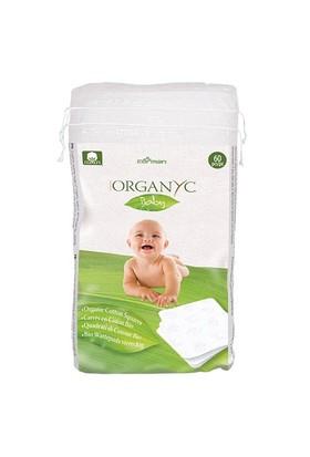 Organyc Bebek Temizleme Pedi - %100 Organik Pamuk