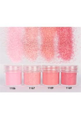 Simin Sugar Effect Soft Pembe Renk Tozlar