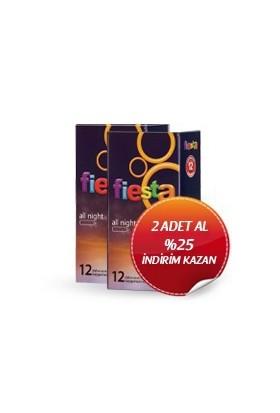 Fiesta Allnight li Prezervatif 2 Paket 24 Adet