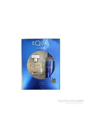 Equal Intense For Men EDT 75 Ml Erkek Parfüm + 150 Ml Vücut Spreyi Set