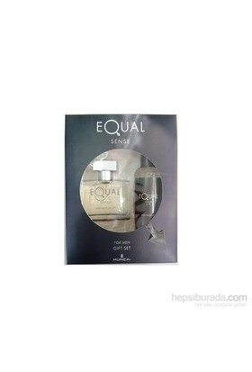 Equal Sense Men 75 Ml Edt Erkek Parfüm + 150 Ml Vücut Spreyi Set