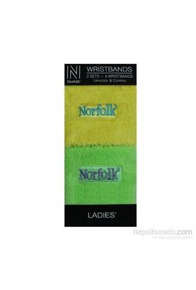 Norfolk Kadın 2'Li Bileklik Sarı Yeşil