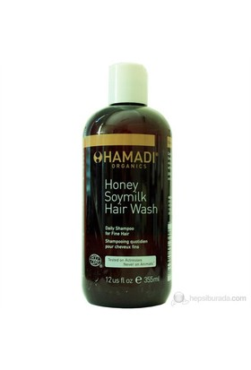 Hamadi Honey Soymilk Hair Wash 355 ml. - Bal ve Soya Sütü Özlü Şampuan