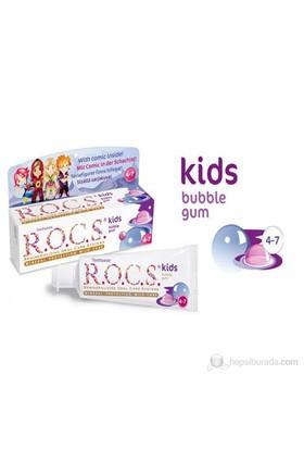 Rocs Kids 4-7 Balon Sakızı Tadında Diş Macunu