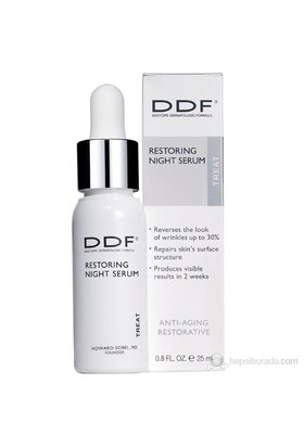 DDF Restoring Night Serum 25ml - Kuru ve Çok Nemsiz Ciltler için Gece Bakım Serumu