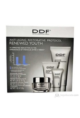 Ddf Anti-Aging Restorative Protocol Renewed Youth - Anti-Aging Kırışıklık Bakım Seti