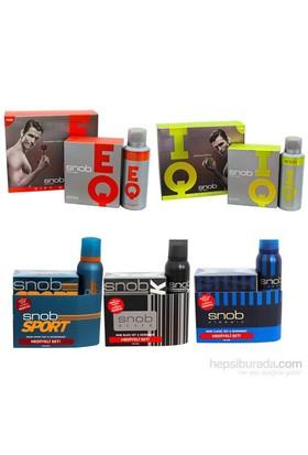 Snob Parfüm Seti Edt 100 Ml + 150 Ml Deodorant Erkek