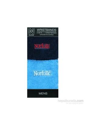 Norfolk Erkek 2'Li Bileklik Lacivert Mavi
