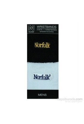Norfolk Erkek 2'Li Bileklik Siyah Beyaz