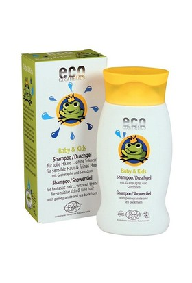 Eco Cosmetics Organik Sertifikalı Bebek Saç Ve Vücut Şampuanı