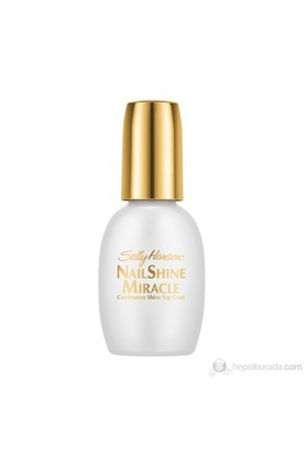 Sally Hansen Nail Shine Miracle - Mucize Parlaklık Veren Astar & Cila