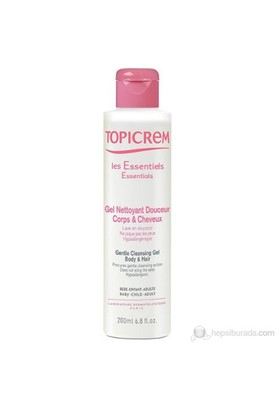 Topicrem Gentle Cleansing Gel Body&Hair 200 Ml