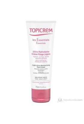 Topicrem Light Ultra Moisturizing Face Cream 75 Ml