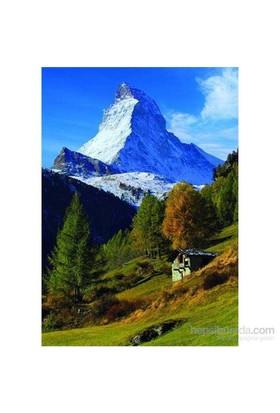 Matterhorn, Pennine Alps, Switzerland (1500 Parça Puzzle)