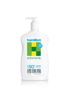 Hamilton Active Family Losyon SPF50+ 500 ml.