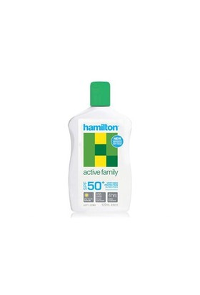 Hamilton Active Family Lotion SPF 50+ 125 ml - Tüm Aileniz İçin Güneş Koruyucu Losyon