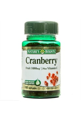 Nature's Bounty Cranberry Plus Vitamin C 100 Softj