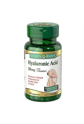 Nature's Bounty Hyaluronic Acid 20Mg 30 Kapsül