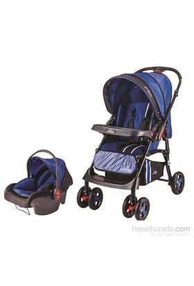 Johnson Lotus Çift Yönlü Seyahat Sistem Bebek Arabası / Lacivert