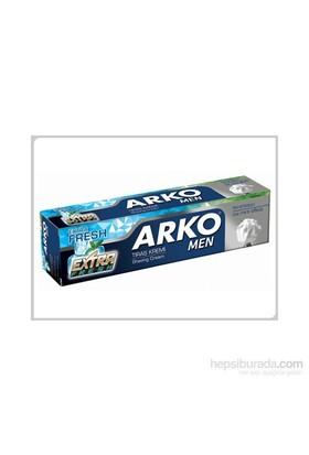 Arko Men Tıraş Kremi Extra Fresh 100 Gr 72 Ext Serisi