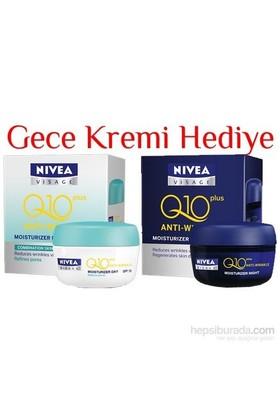 Nivea Visage Q10 Plus Kırışıklık Karşıtı Gündüz+Gece Bakım Kremi