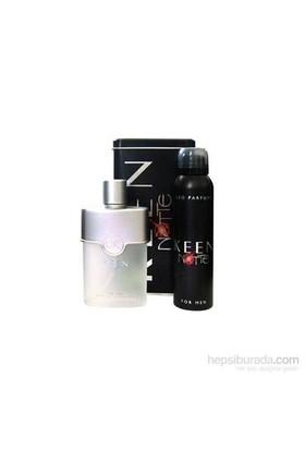 Keen Notte Edt 100Ml Erkek Parfüm + 150Ml Deodorant Parfüm Set