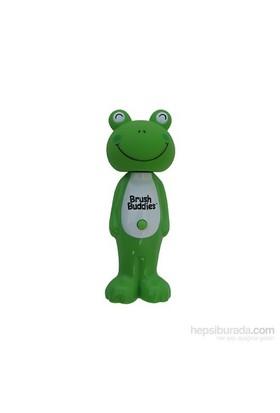 Brush Buddies Kafası Çıkan Oyuncak Şeklinde Diş Fırçası POPİN Kurbağa Karakterli
